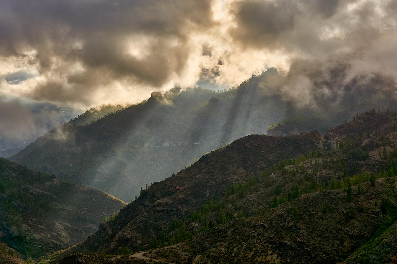 El cielo del Barranco de Ayacata