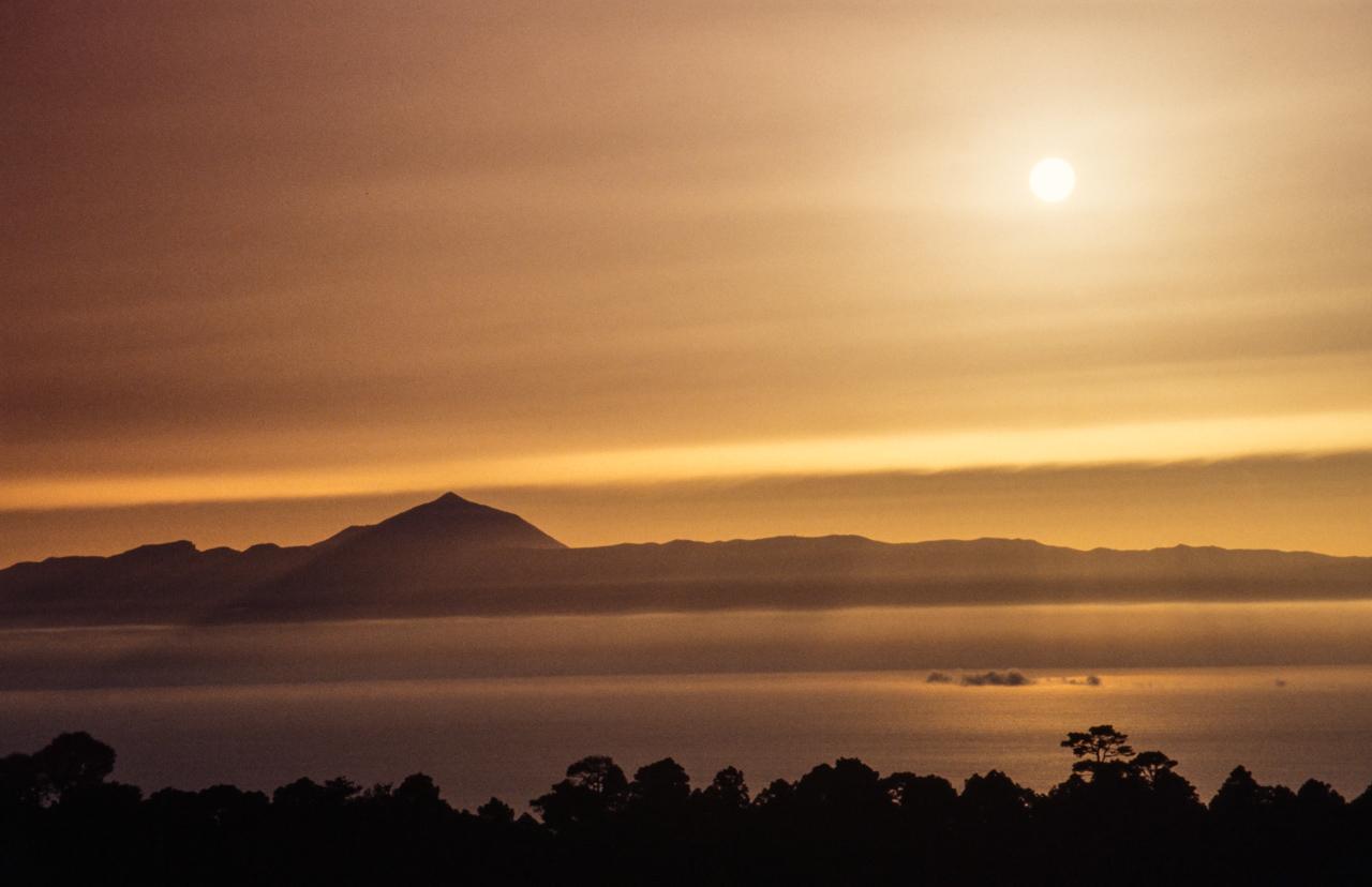 Sombras del Teide
